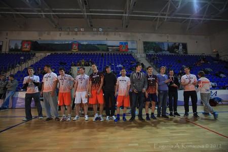 Команда Жара натурнире Запуск 2012 (Open-2, 3/18)
