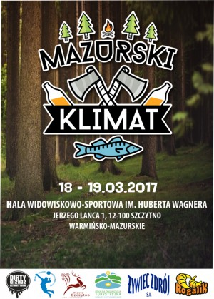 Логотип турнира Mazurski klimat 2017