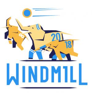 Логотип турнира Windmill Windup 2018