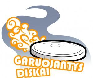 Логотип турнира Garuojantys Diskai 2012