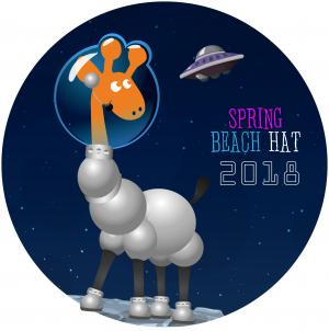 Логотип турнира Spring Beach Hat 2018