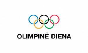 Логотип турнира Olimpinės dienos paplūdimio lėkščiasvydžio varžybos
