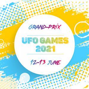 Логотип турнира Ultimate Frisbee Omsk Games 2021