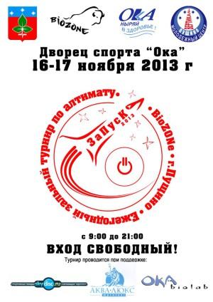 Логотип турнира ЗаПуск 2013