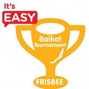 Логотип турнира Baikal Frisbee Hat Tournament 2015