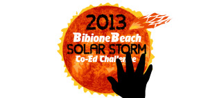 Логотип турнира Bibione Beach Co-Ed Challenge 2013