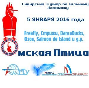 Логотип турнира Омская Птица 2016