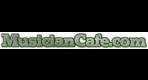 Musician cafe logo green