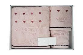 Набір рушників MAISON D'OR SOFT HEARTS COTTON