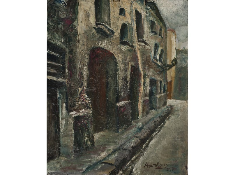 """La rue de Nevers"", 1927"