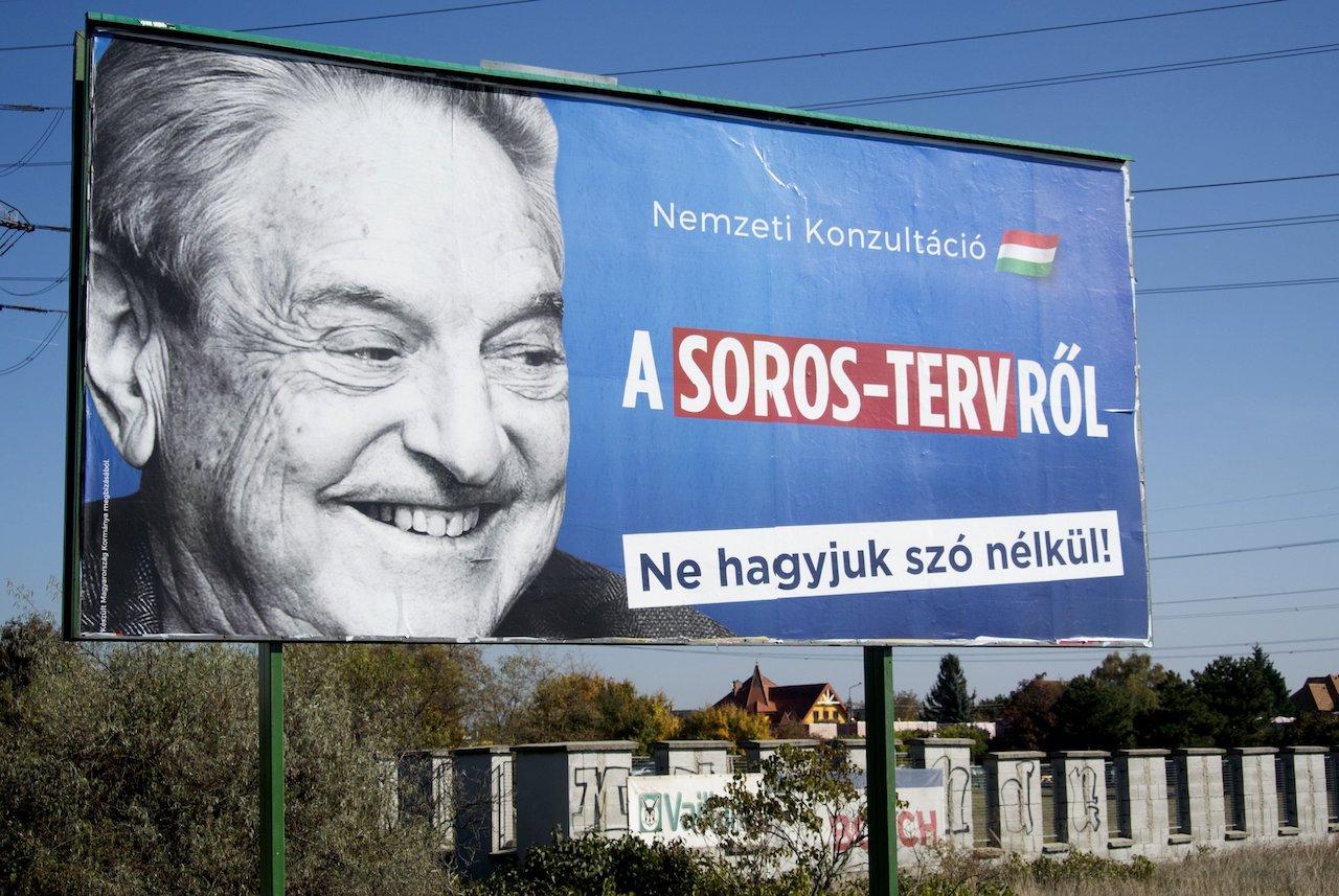 Maďaská kampaň proti Georgi Sorosovi