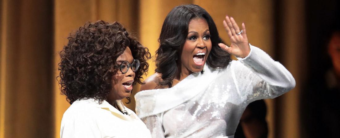 Oprah Winfrey a Michelle Obama
