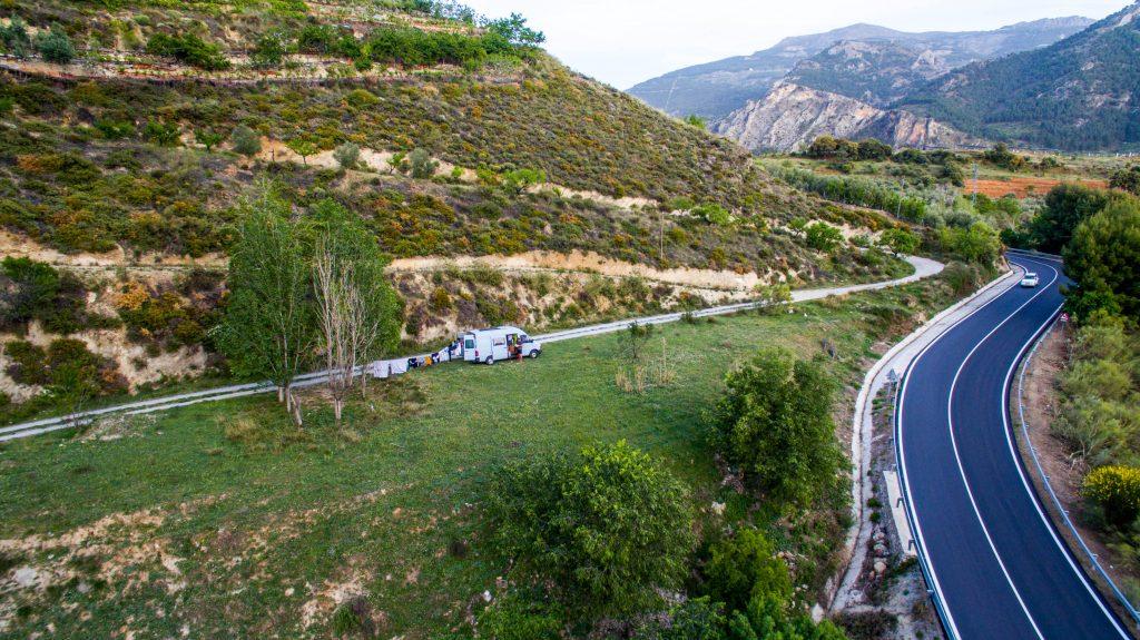 Wildcamping u Guéjar Sierra