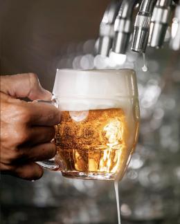 Baví tě čepovat pivo?