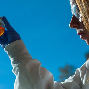 Bio-lab up and running