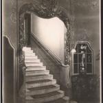 Pohled na schodište (foto Trousil, 1940)