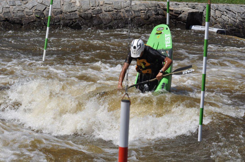 kayakář