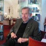 Václav Havel v březnu 2010