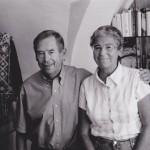 Helena Illnerová s Václavem Havlem