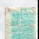 Ukázka Jednorožcových motáků z kriminálu, dopis Olince