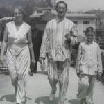 S rodiči, Opatija 1931