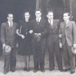 Svatba, Praha 27.7.1945