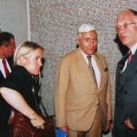 S Günterem Verheugenem v Pinkasově synagoze, 2002