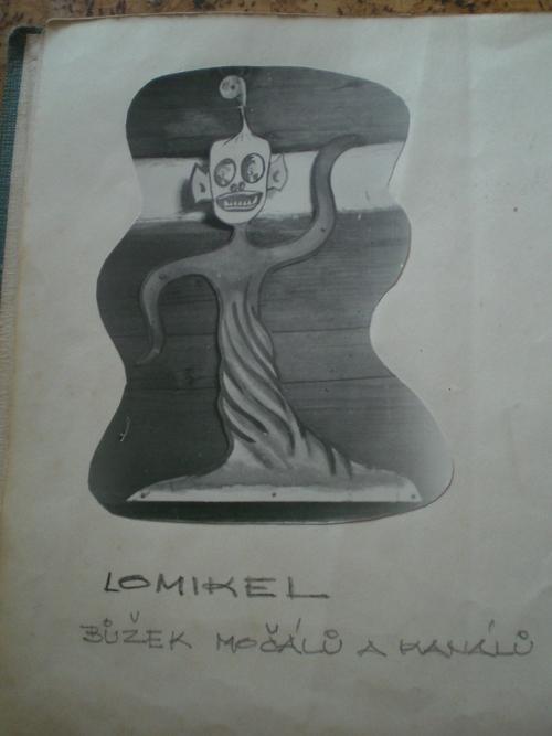 Lomikel - Duch Šandovy chalupy