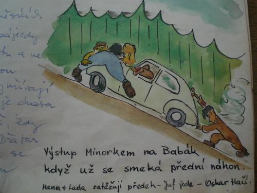 Z kroniky Šandovy chalupy-Otokar Randák(Oskar)