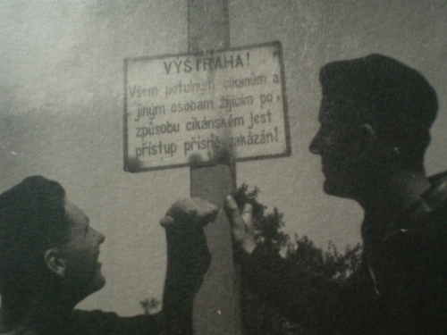 Z cesty na Slovensko 1949