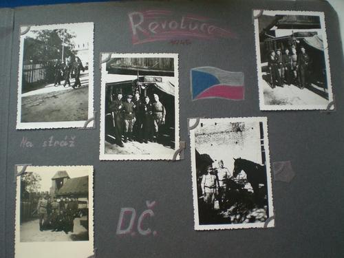 1945 Nymburk sovětští spojaři