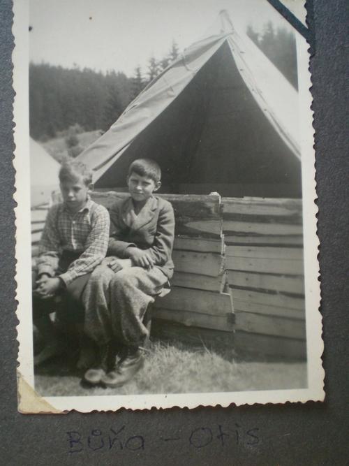 1939 - Otis s Buňou na táboře