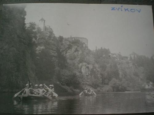 1946-domů po řece