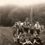 skautský tábor v Orlických horách (1946)