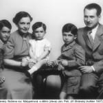 Rodina Stránských v roce 1937