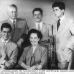 Rodina Stránských v roce 1948
