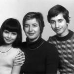Rodina Stránských v roce 1974