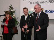 Zahájení konference Betonové vozovky 2008 v Kroměříži