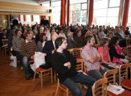 Pozorní posluchači při jednotlivých přednáškách