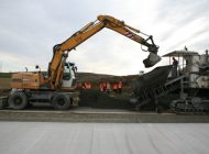 Dovoz čerstvého betonu na stavbu