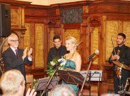 Operní a muzikálová zpěvačka Michaela Gemrotová v rámci pěveckého vystoupení