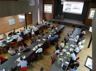 Zaplněné auditorium semináře