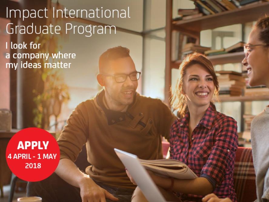 Aperte le selezioni per il nostro Impact International Graduate Program! image
