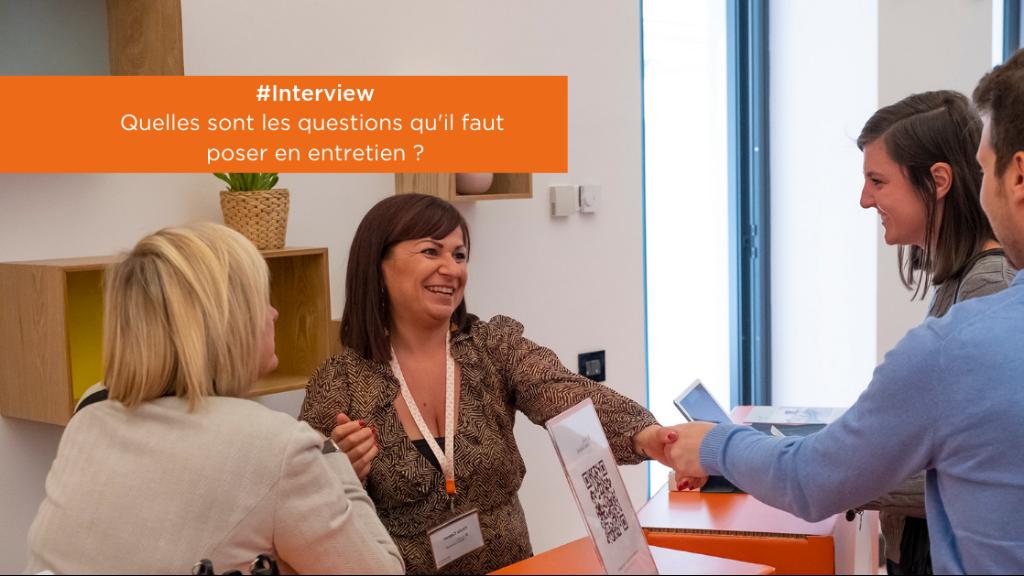 #Interview | Quelles questions poser lors d'un entretien ?  image