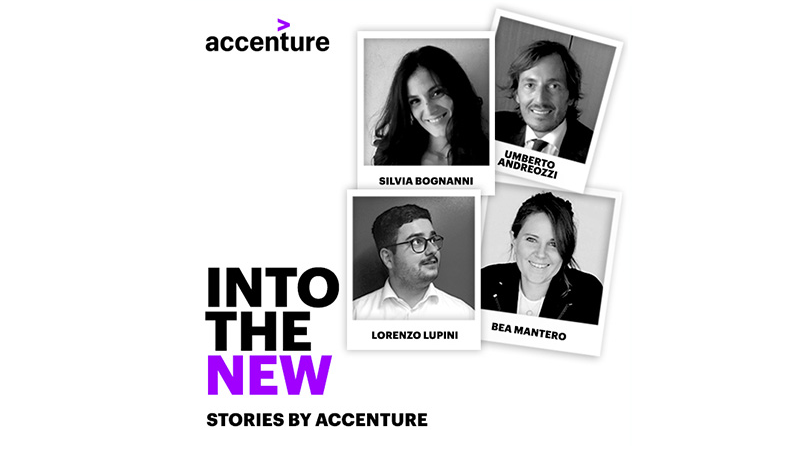 Partecipa al Webinar INTO THE NEW: stories by Accenture | 29 Novembre | ore 18 image