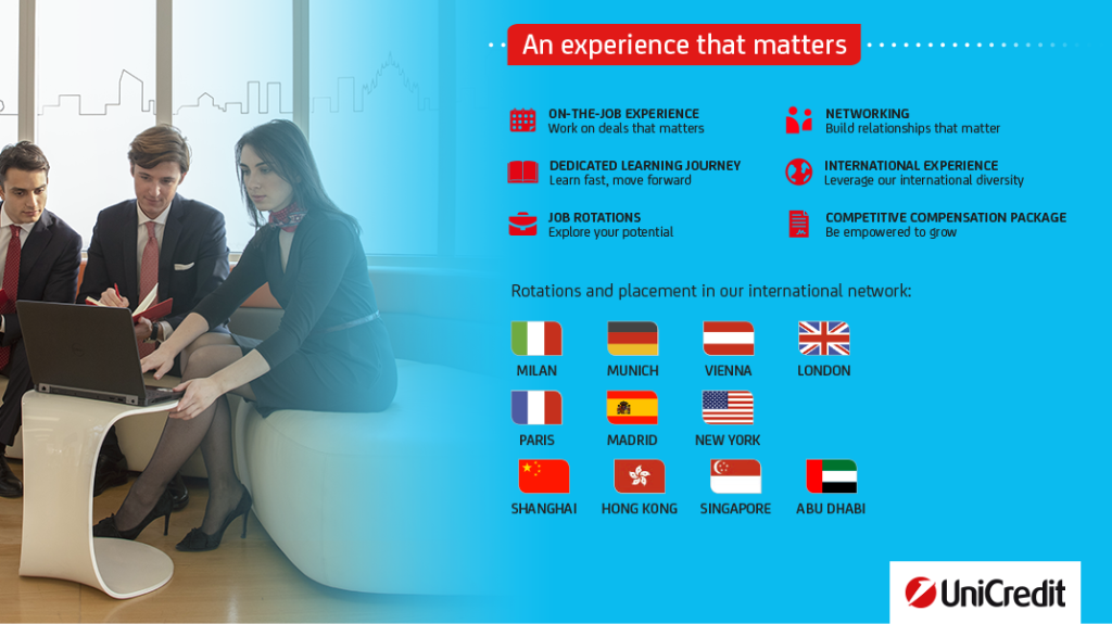 Graduate Program Corporate & Investment Banking.#dowhatmatters for your career image