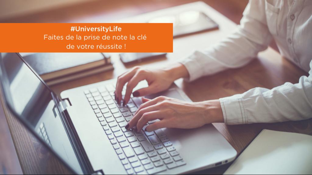 #UniversityLife   Faites de la prise de note la clé de votre réussite ! image