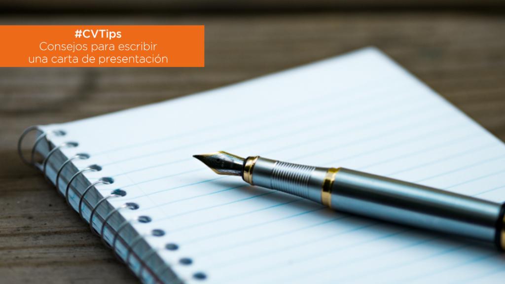 #CVTips   Carta de Presentación: ¿Cómo escribirla para tener éxito? image