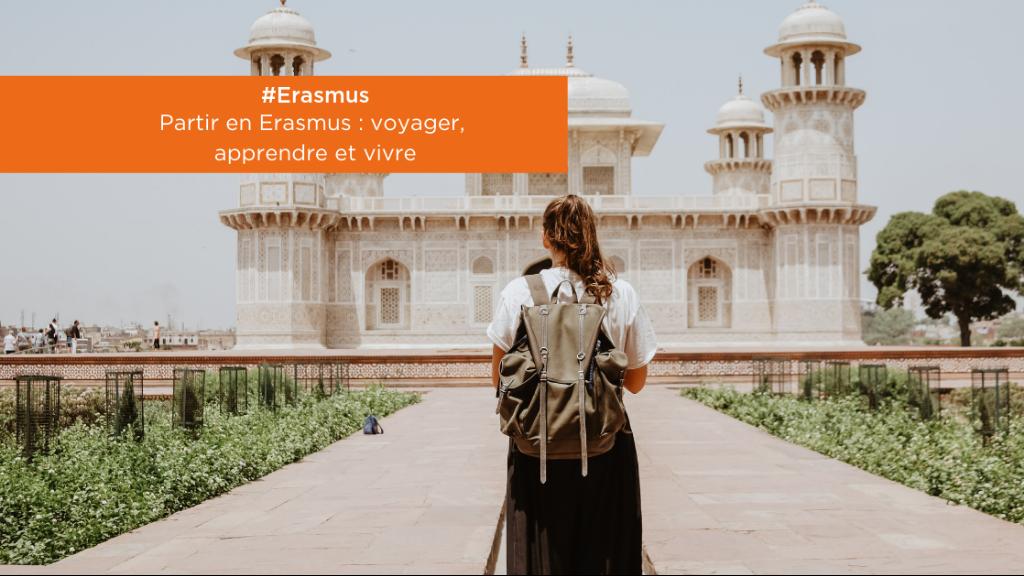 #Erasmus | Partir en Erasmus : voyager, apprendre, vivre ! image