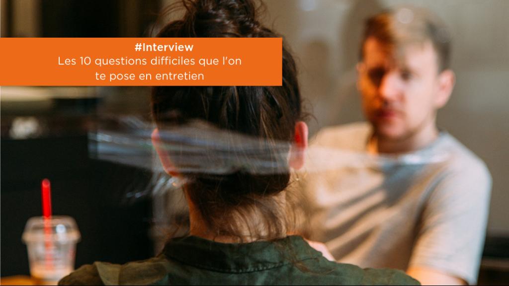 #Interview | 10 questions difficiles posées en entretien image